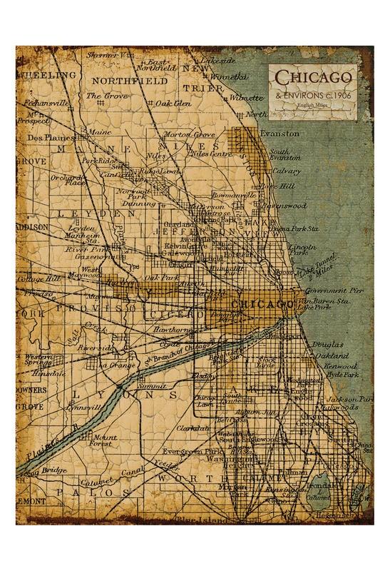 Carole Stevens, ENVIRONS CHICAGO III (STÄDTE)