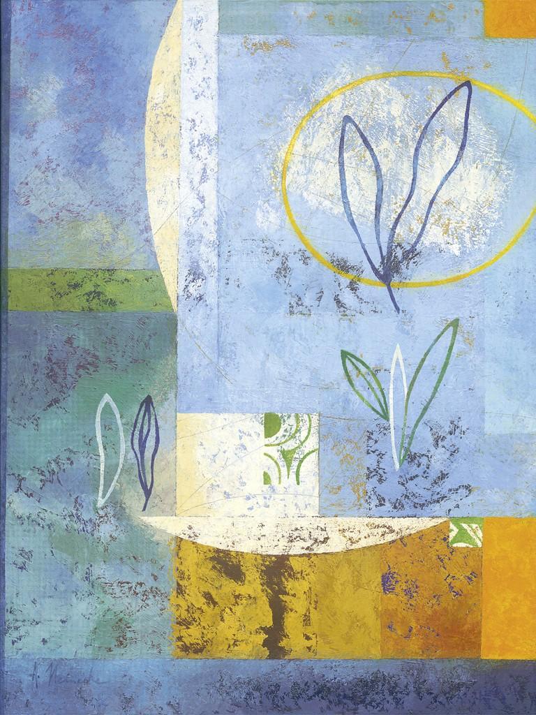 Astrid Heinecke, Magnolia (Abstraktes)