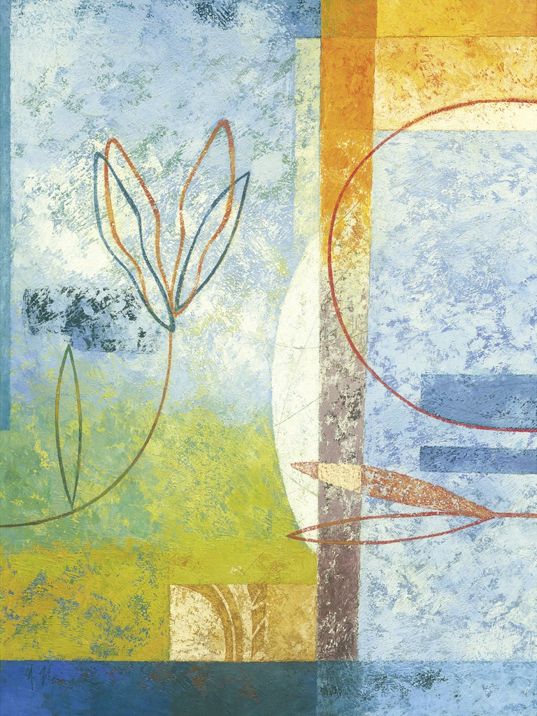 Astrid Heinecke, Paseo Grande (Abstraktes)