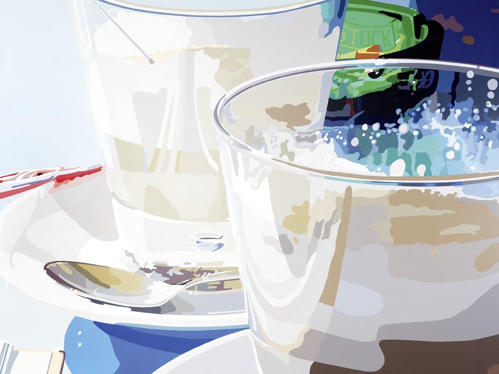 Hubert Heinrich, Latte Macchiato II (Interieur & Stills)