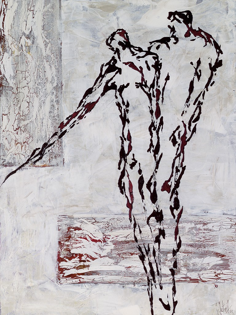 Gunda Jastorff, Schulterschluß (Figuratives)
