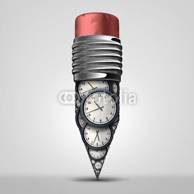 freshidea, Time Plan Symbol (zeit, entwicklung, planes, konzept, business, uhren, stift, planer, strategie, kreativ, kreativität, zeitplaner, termin, managen, manage, letzter termin, ideen, symbol, genauigkeit, stunde, minuten, datum, timing, ewiges leben, übertragener ausdruc)