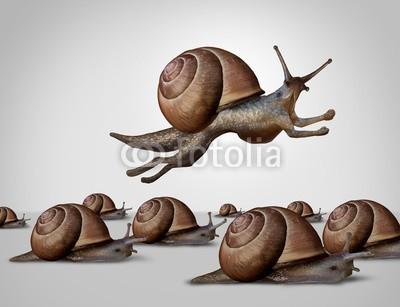 freshidea, Concept Of Change (konzept, wechseln, klug, surreal, traumhaft, different, business, erfolg, ideen, wettrennen, anpassen, gelingen, konkurrieren, erfinder, innovation, kreativität, inspiration, schnecke, träge, konkurrenzfähig, siegen, gewinner, laufen, krieche)