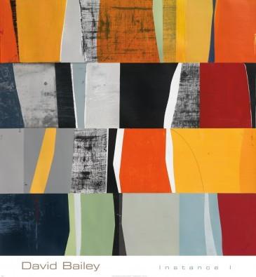 David Bailey, Instance I (Zeitgenössisch, Modern, Plakatkunst, Abstrakte Malerei, geometrische Figuren, Farbfelder, Rechtecke, Büro, Business, Wohnzimmer, bunt)