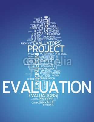 Ben Chams, Word Cloud Evaluation (Wunschgröße, Fotokunst, Grafik, Worte, Wolke, Intelligenz, Gitter, Raster, Motivation, Modernität, Büro, Business, blau,  weiß)