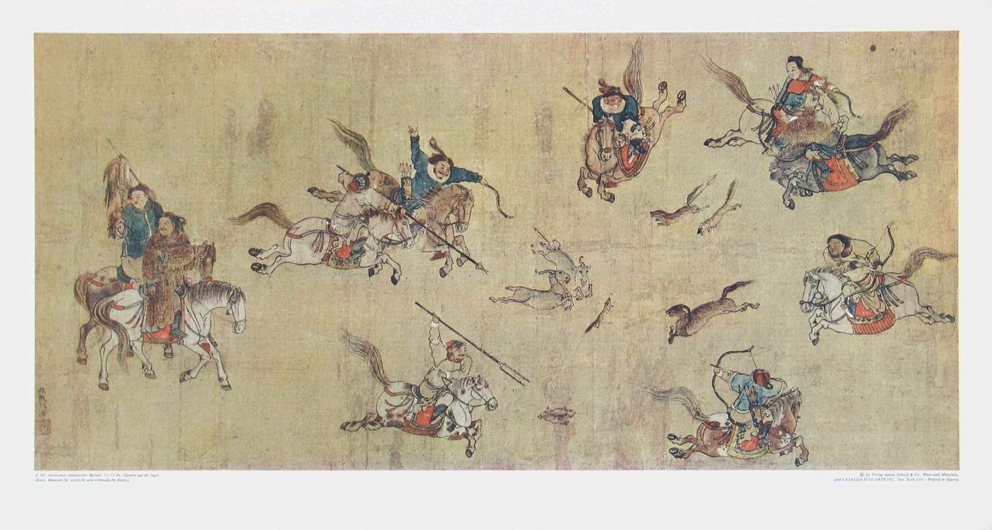 Chinesisch, Ende einer mongolischen Jagd