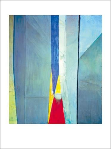 DIEBENKORN, Ocean Park N 10, 1968 (Abstrakte Malerei, Farbflächen, Farbfelder, abstrakte Muster, modern, Wohnzimmer, Treppenhaus, Büro, bunt)