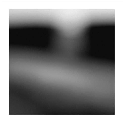 Dominique DEMASEURE, Haies (Fotokunst, verschwommen, verwischt, diffus, unscharf, modern, Wohnzimmer, Treppenhaus, schwarz/weiß)