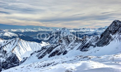 eugen_z, Blick von der Zugspitze (zugspitze, gletscher, bavaria, garmisch, deutschland, österreich, tirol, natur, panorama, alpen, berg, berg, wandern, bergspitzen spiegeln sich im fluss, skier, skilaufen, skilaufen, lohnzeit, schnee, fitness, erholung, spaß, fröhlichkeit, spaß, winte)