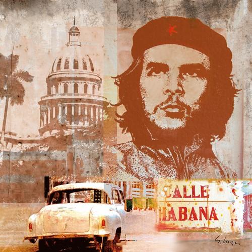 Gery Luger, Legenden IV (Che Guevara, Rebell, Idol, Freiheitskämpfer, Kuba, Persönlichkeiten, Eros&People, Plakatkunst, Jugendzimmer, Treppenhaus, Wunschgröße,)