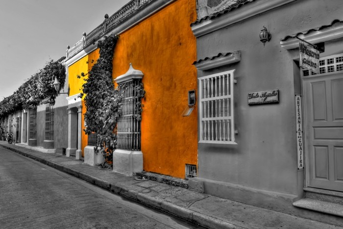 Hady Khandani, COLORSPOT - CARTAGENA STREETS - COLOMBIA (HADYPHOTO, Fotografie)