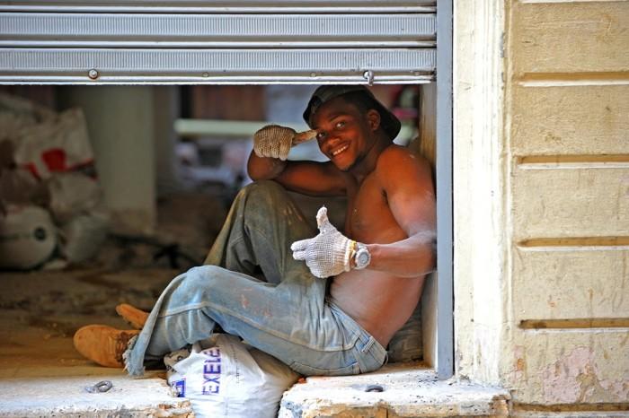 Hady Khandani, CONSTRUCTION WORKER 1 (HADYPHOTO, Fotografie)