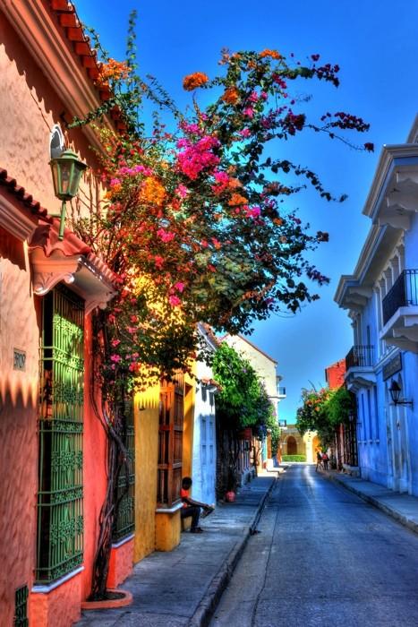 Hady Khandani, HDR - CARTAGENA STREETS - COLOMBIA 3 (HADYPHOTO, Fotografie)