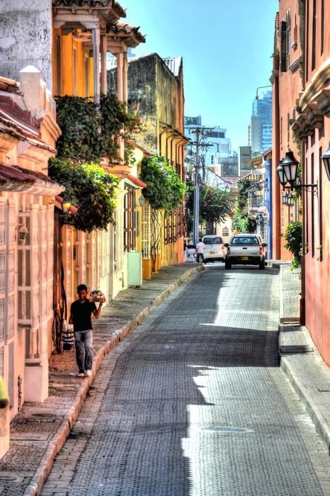 Hady Khandani, HDR - CARTAGENA STREETS - COLOMBIA 6 (HADYPHOTO, Fotografie)