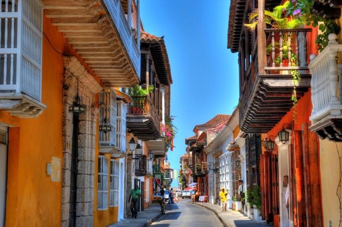 Hady Khandani, HDR - CARTAGENA STREETS - COLOMBIA 9 (HADYPHOTO, Fotografie)