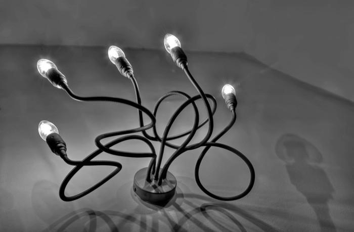 Hady Khandani, HDR - TENTACLES LAMP 4 (HADYPHOTO, Fotografie)