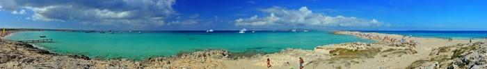 Hady Khandani, PANO - ILLETES BEACH FORMENTERA 3 (HADYPHOTO, Fotografie)