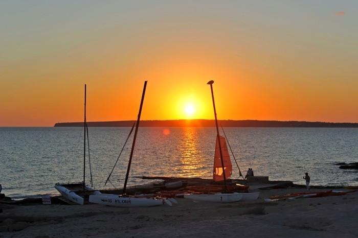 Hady Khandani, SUNSET AT PLATJA DE MIGJORN - FORMENTERA 1 (HADYPHOTO, Fotografie)