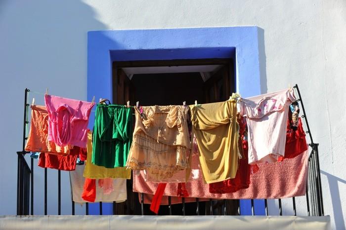 Hady Khandani, WASHING DAY IN IBIZA OLD CITY - SPAIN (HADYPHOTO, Fotografie)