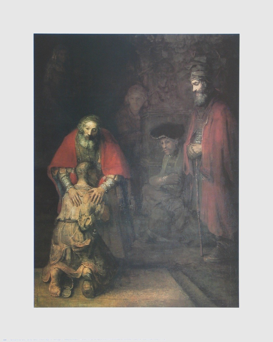 Harmensz. van Rijn Rembrandt, Die Heimkehr des verlorenen Sohnes