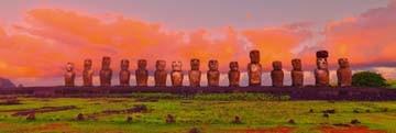 John Xiong, Easter Island Moais (Photokunst)
