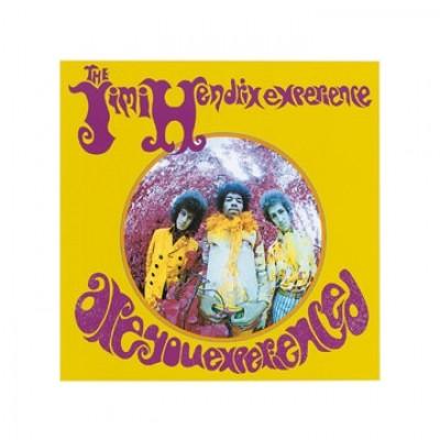 Edward Lunch, Jimi Hendrix - Experienced (Jimi Hendrix, Plattencover, Sänger, Musiker, Künstler, Hippie, Persönlichkeiten, Fotokunst, Wohnzimmer, Treppenhaus, Musikschule, bunt)