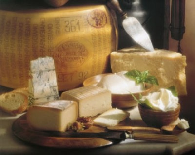 Marcialis Riccardo, Formaggi italiani (Käse, Vielfalt, Käsesorten,  Italien, Essen, Küche, Kochen, Esszimmer, Gastronomie, Fotografie, bunt)