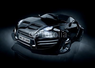 -Misha, Brandless sports car (Wunschgröße, Fotokunst, Auto, Coupé, Sportwagen, Design, Karrosserie, Technik, Fahrzeug, Luxus, chic, schnell, Automobil, Büro, Autowerkstatt, bunt)