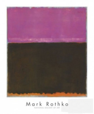 Mark Rothko, Untitled, 1953 (Klassische Abstrakte Malerei)