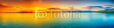 Olga Khoroshunova, Sunset panorama (sonnenuntergänge, panorama, meer, ozean, landschaft, fantasy, sunrise, seelandschaft, insel, strand, philippinen, niemand, landschaftlich, szenerie, himmel, lang, belichtung, zeit, wasser, hintergrund, tapete, tropisch, schöner, schönheit, wolke)