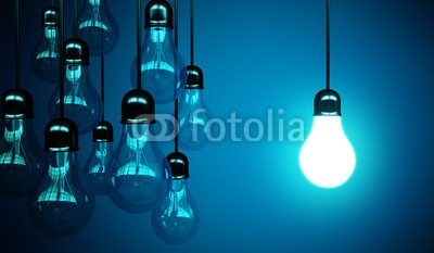 peshkova, idea concept (lighting, weiß, light bulb, light bulb, licht, glühbirne, ausstattung, energie, objekt, single, photography, niemand, hell, elektrizität, watt, vertikal, abbild, ideen, glas, electric, innovation, lampe, angestrahlt, kräfte, glühend, 3d, render, symbo)