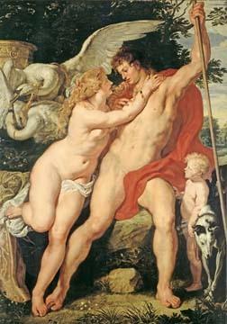 Peter Paul Rubens, Venus und Adonis (Klassiker)