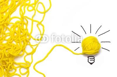 Stauke, Den Weg zur Lösung finden - Konzept (ideen, abtrennung, konzept, idalp, erfolg, strategie, textfreiraum, finden, innovation, wirrwarr, wolle, faden, isoliert, prosperous, gespann, ideen, giessbach, zusammenarbeit, kreativität, lotharpfad, kreativ, haben, glühbirne, lampe, glühbirne, ziele)