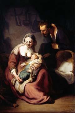 Rijn van Rembrandt, Die heilige Familie (Klassiker)