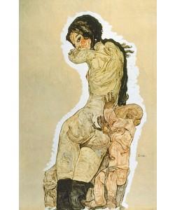 Egon Schiele, Mutter und Kind. 1910.