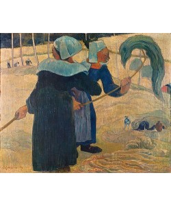 Paul Gauguin, Die Heumacherinnen. 1889