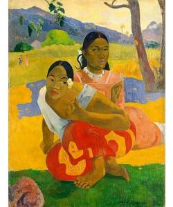 Paul Gauguin, Nafea Faaipoipo (Wann wirst du heiraten?). 1892