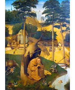 Hieronymus Bosch, Der heilige Antonius. Um 1490