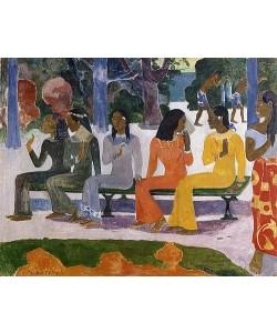 Paul Gauguin, Ta Matete (Der Markt). 1892.