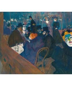 Henri de Toulouse-Lautrec, Im Moulin Rouge. 1892/93
