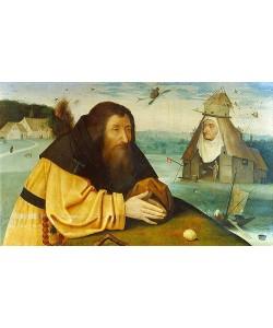 Hieronymus Bosch, Die Versuchung des heiligen Antonius.