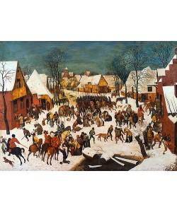 Pieter Brueghel d.Ä., Der bethlehemitische Kindermord.