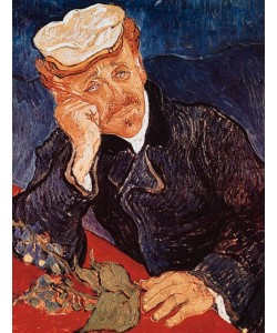 Vincent van Gogh, Portrait du Docteur Gachet (Offset)