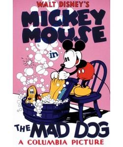 Disney Walt The Mad Dog (Siebdruck)