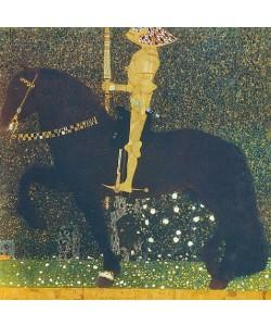 Gustav Klimt, Das Leben ein Kampf (Der goldene Ritter) 1903