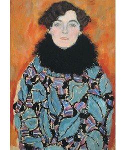 Gustav Klimt, Bildnis Johanna Staude (unvollendet). 1917/18