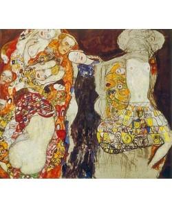 Gustav Klimt, Die Braut (unvollendet). 1917/18.