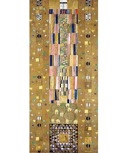 Gustav Klimt, Werkvorlage zum Stocletfries. Schmalwand. Um 1905/09.