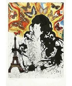 Dali Salvador S.N.C.F. 1228 Paris (1969) (Grano-Lithographie)