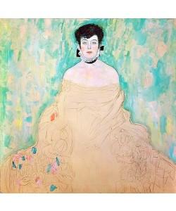 Gustav Klimt, Bildnis Amalie Zuckerkandl. 1917/18 (unvollendet)